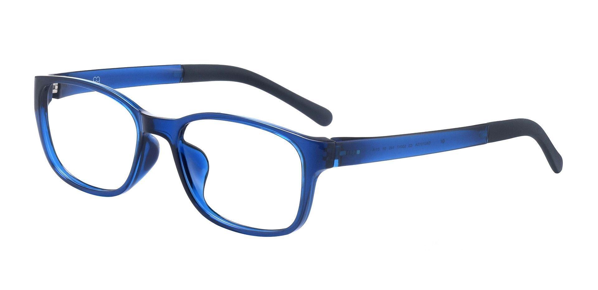 Dorado Oval Prescription Glasses - Blue