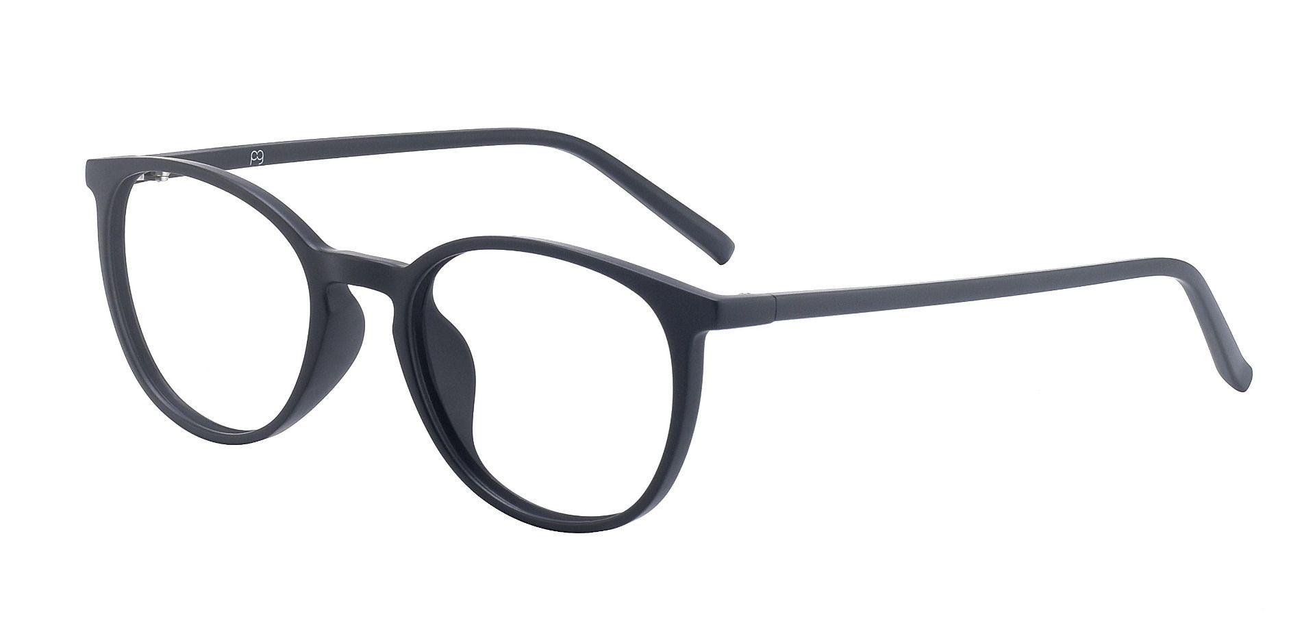 Cobia Oval Prescription Glasses - Black
