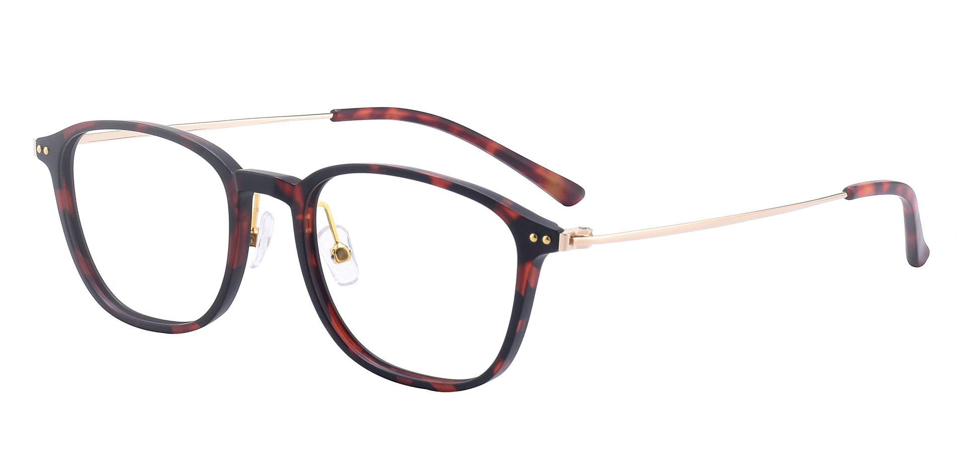 London Oval Prescription Glasses - Brown