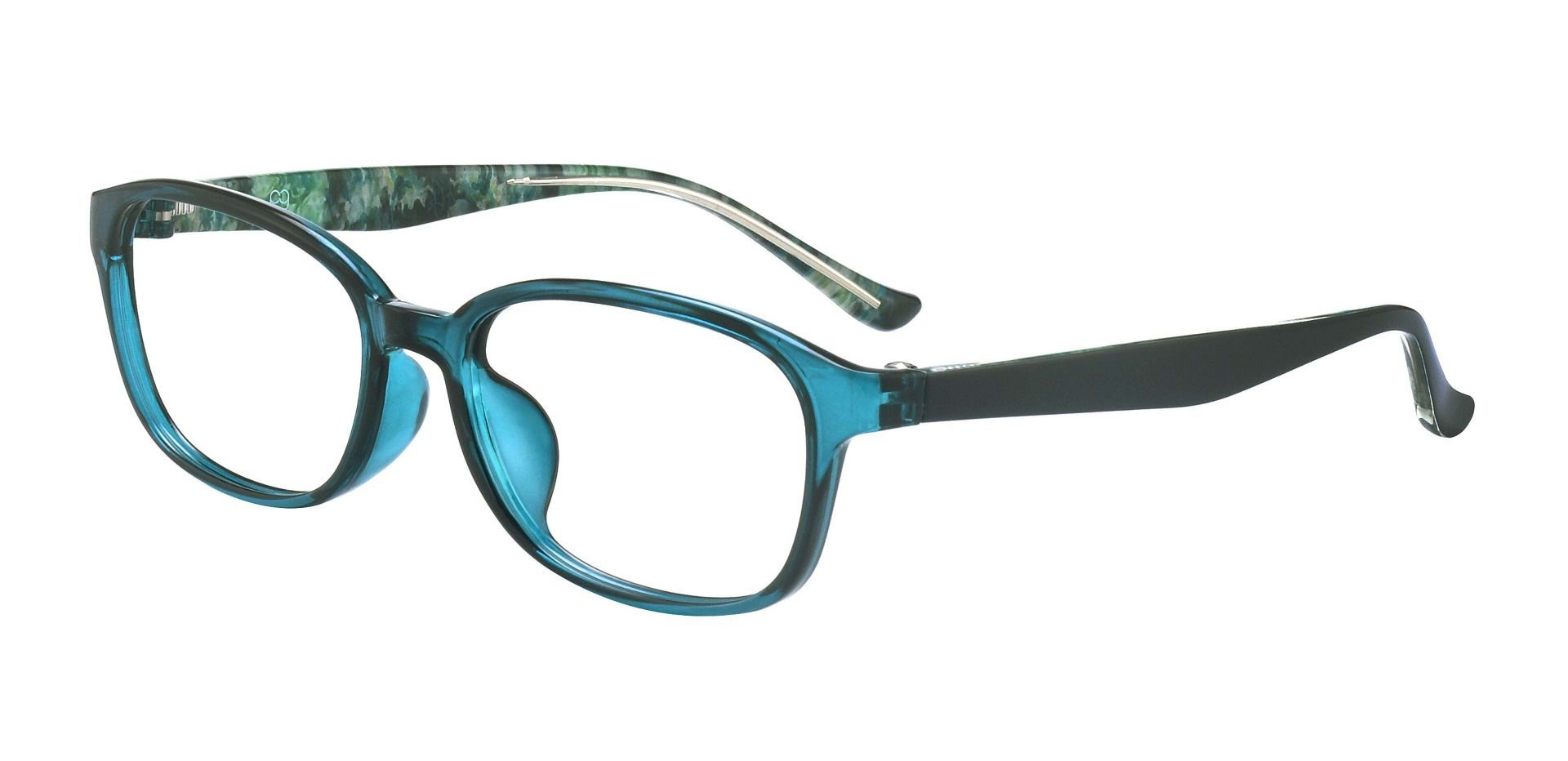 Hemingway Oval Prescription Glasses - Blue