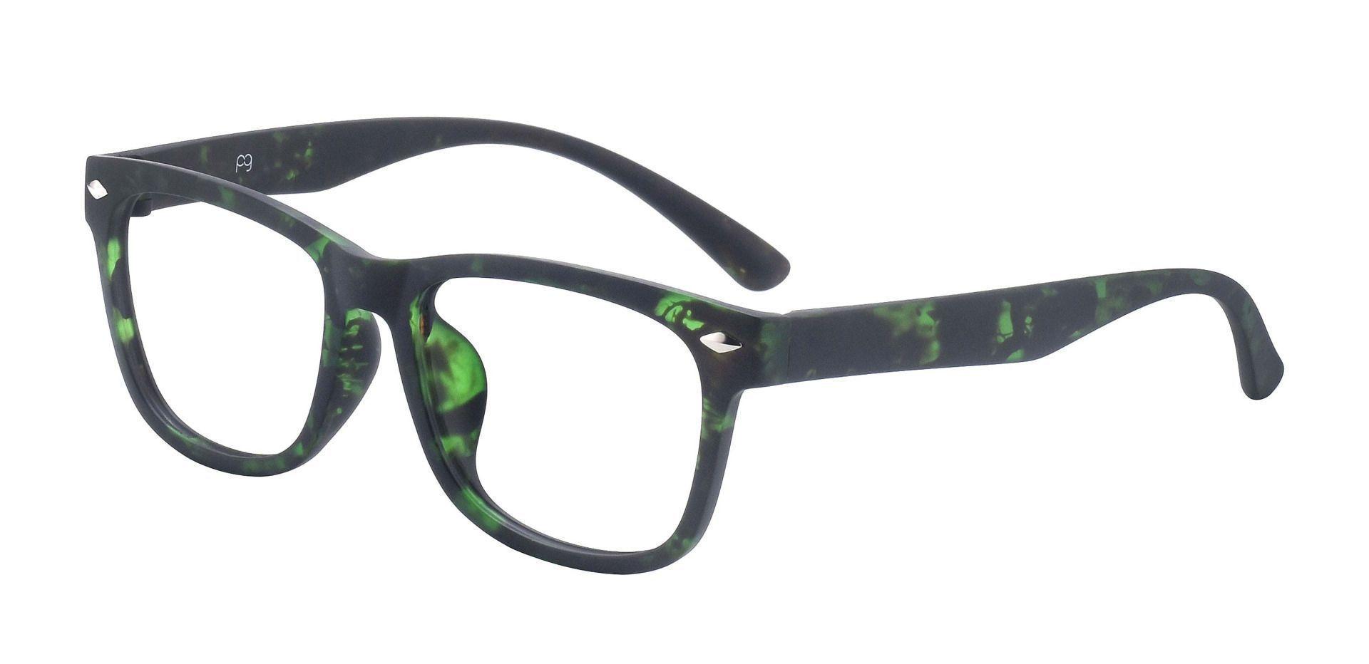 Tessa Classic Square Prescription Glasses - Green