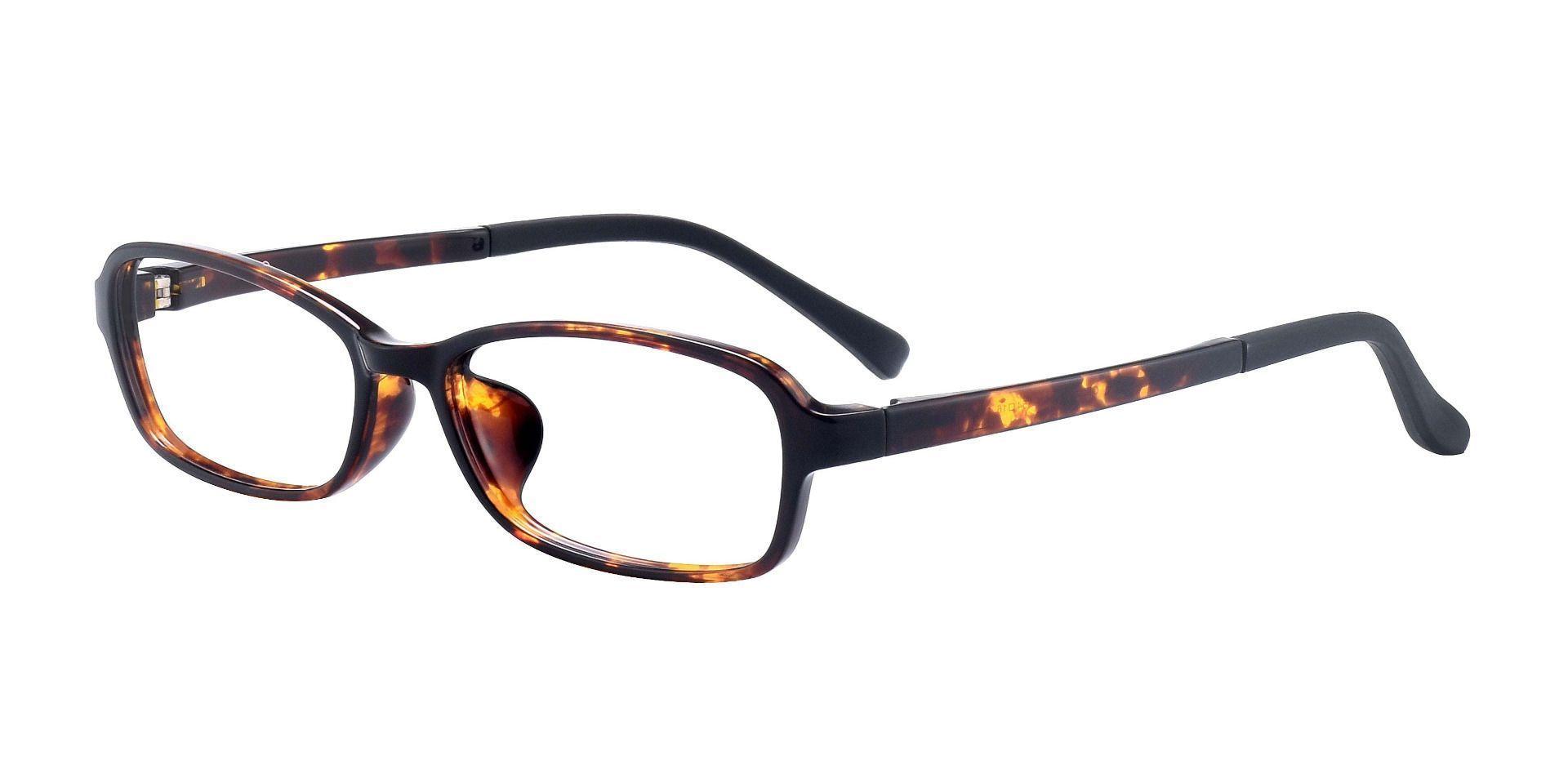 Hollis Rectangle Prescription Glasses - Tortoise