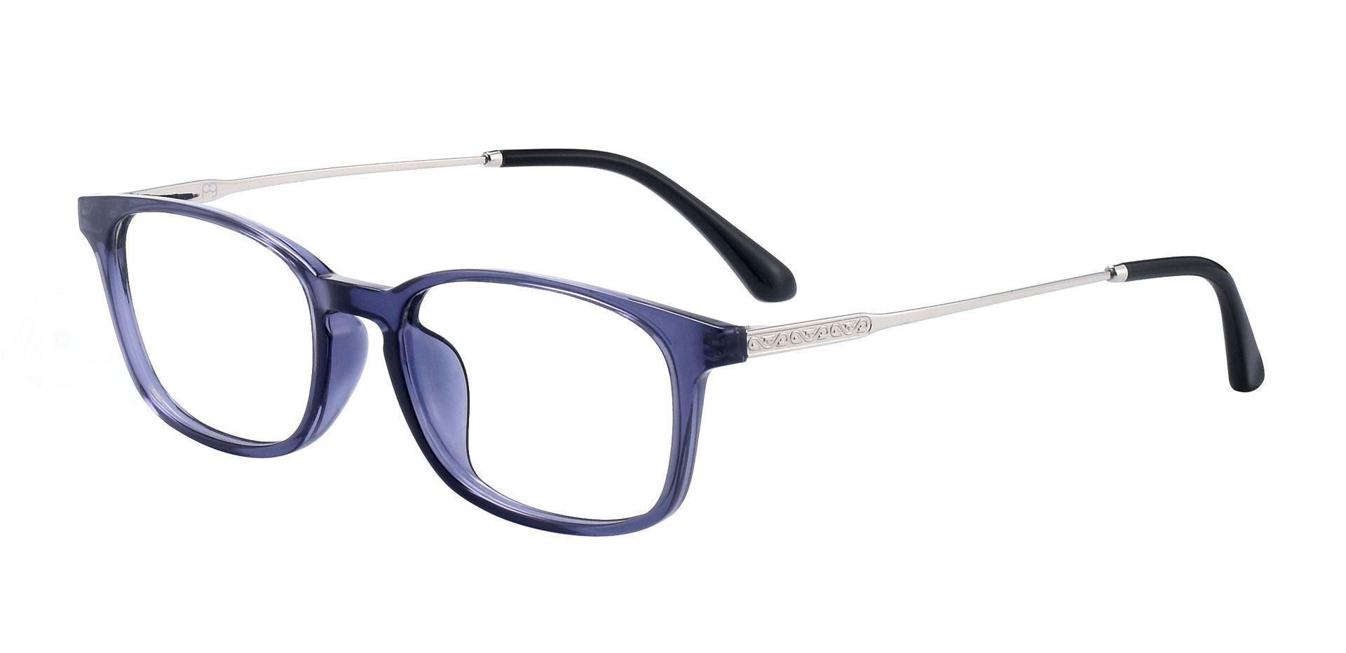 Vanna Rectangle Prescription Glasses - Blue