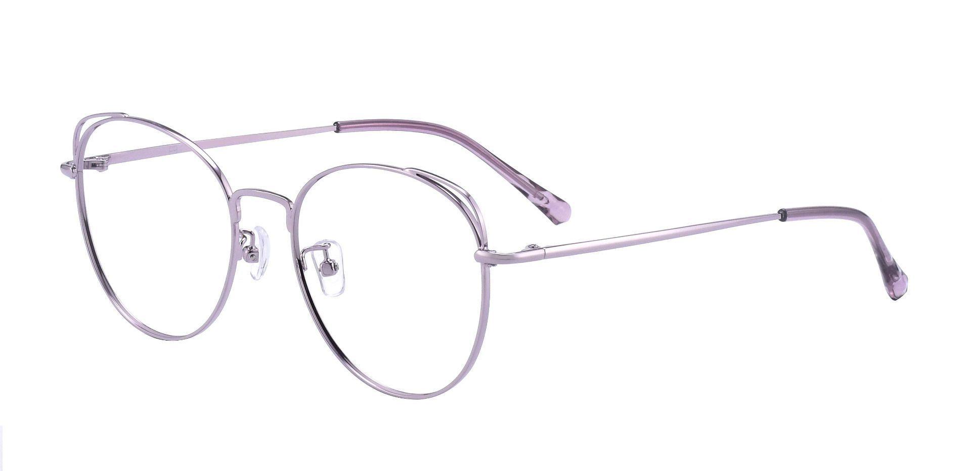 Ellie Oval Prescription Glasses - Lavender
