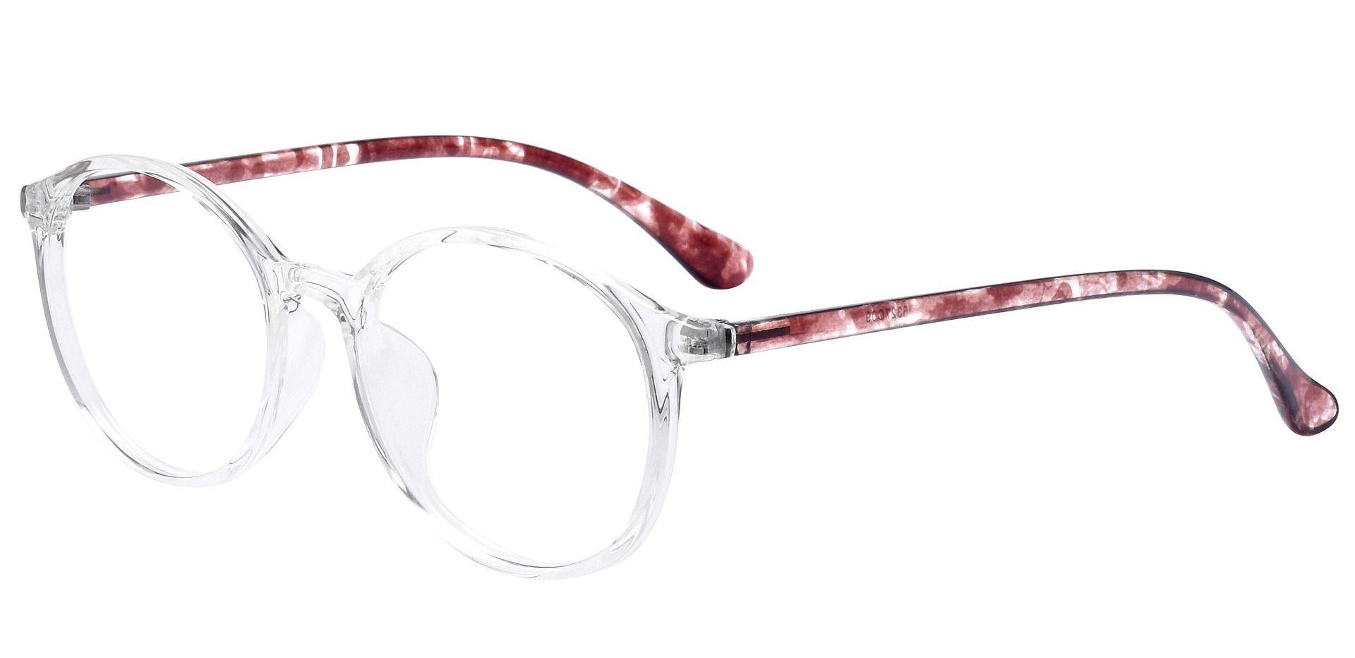 Zemi Round Prescription Glasses - Clear