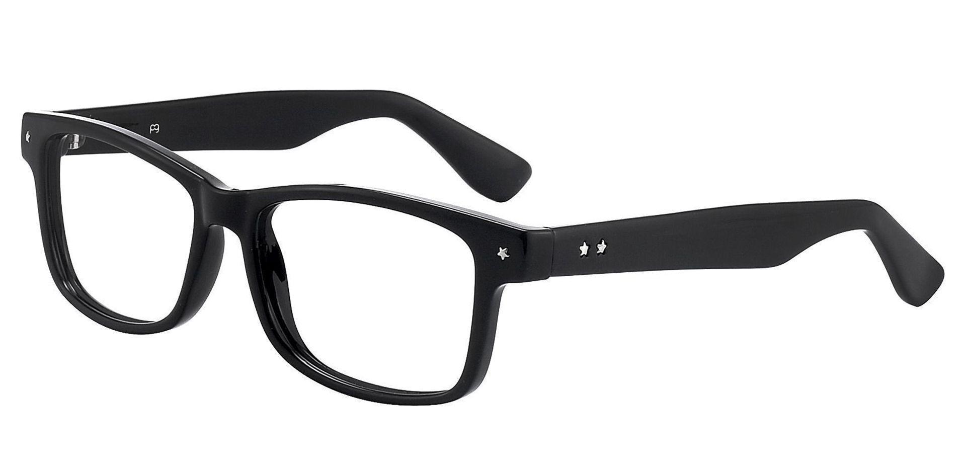 Cochran Rectangle Prescription Glasses - Black