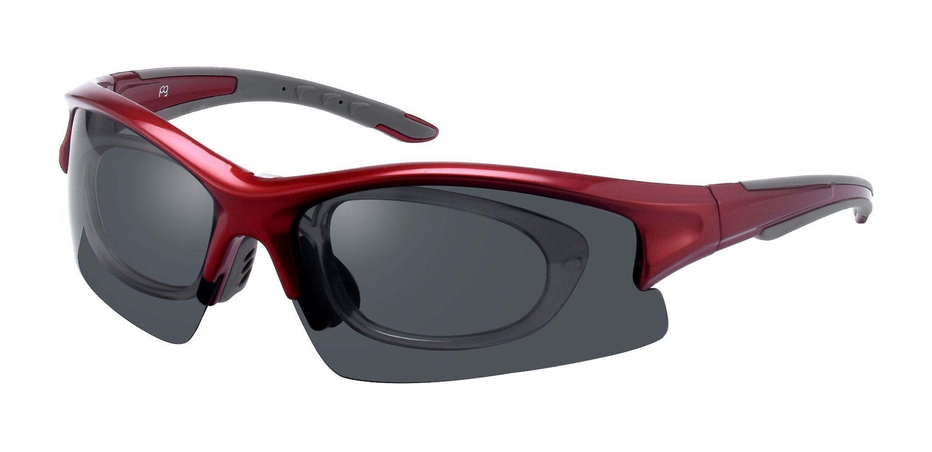 Ashby Sport Glasses Prescription Glasses - Red