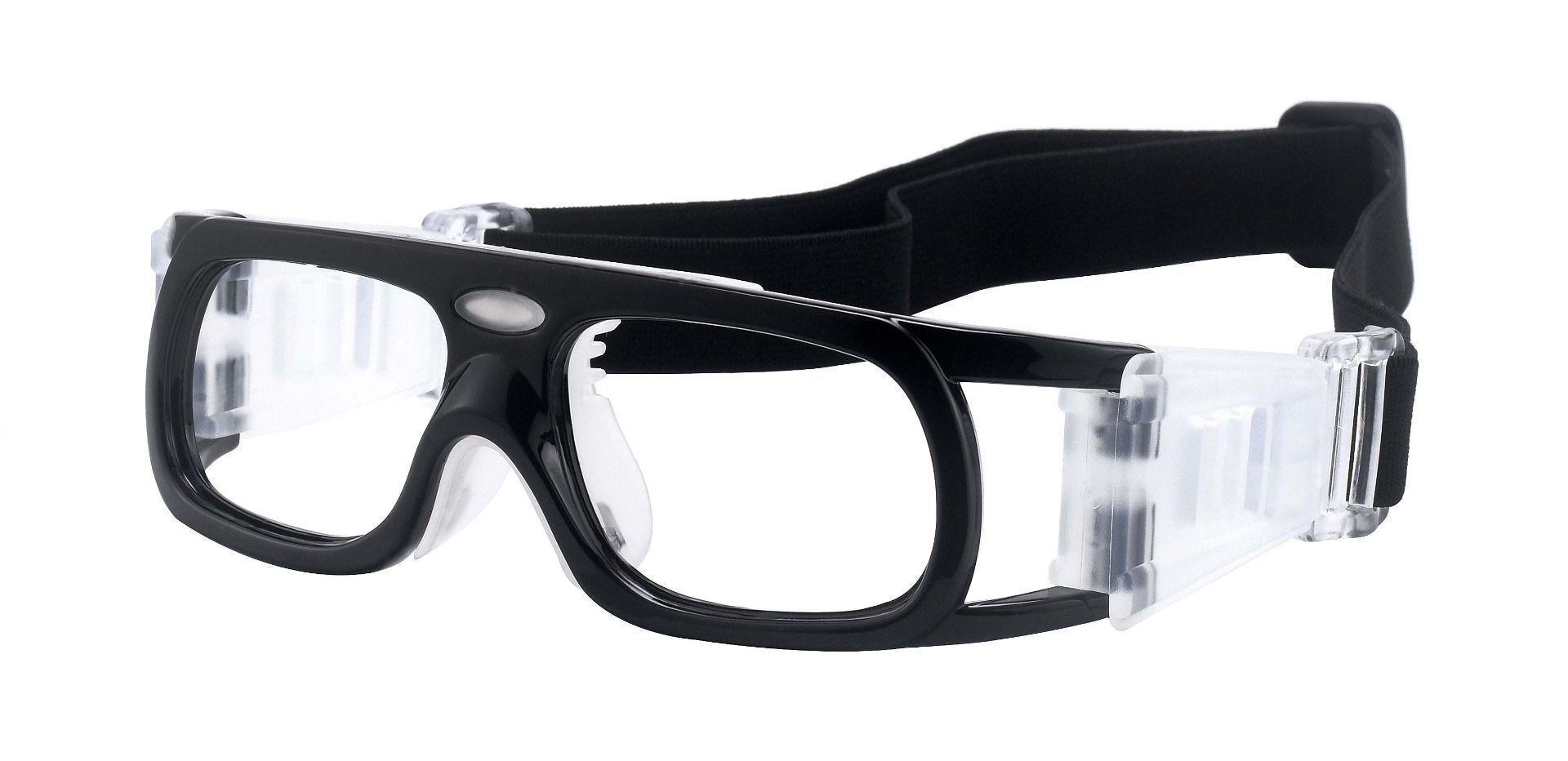 Beckham Sports Goggles Prescription Glasses - Black