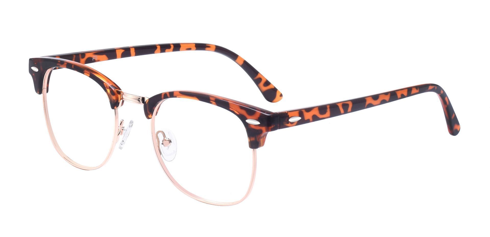 Salvatore Browline Prescription Glasses - Tortoise