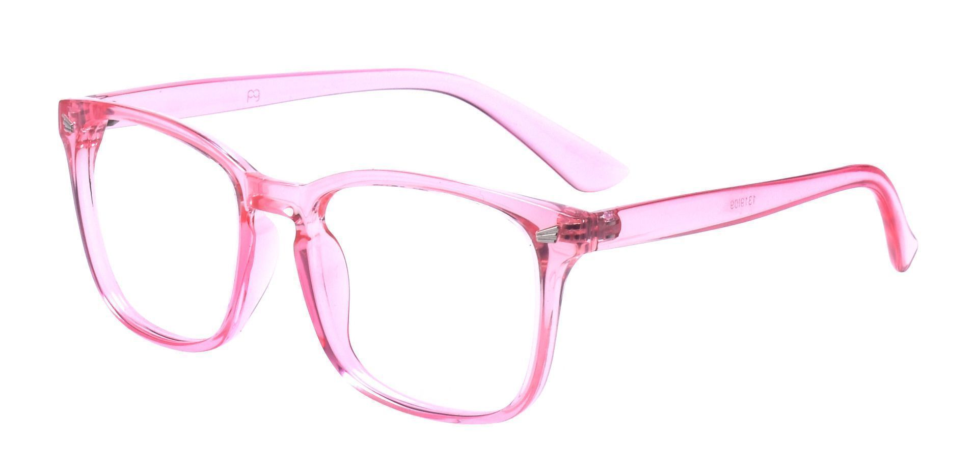 Rogan Square Prescription Glasses - Pink