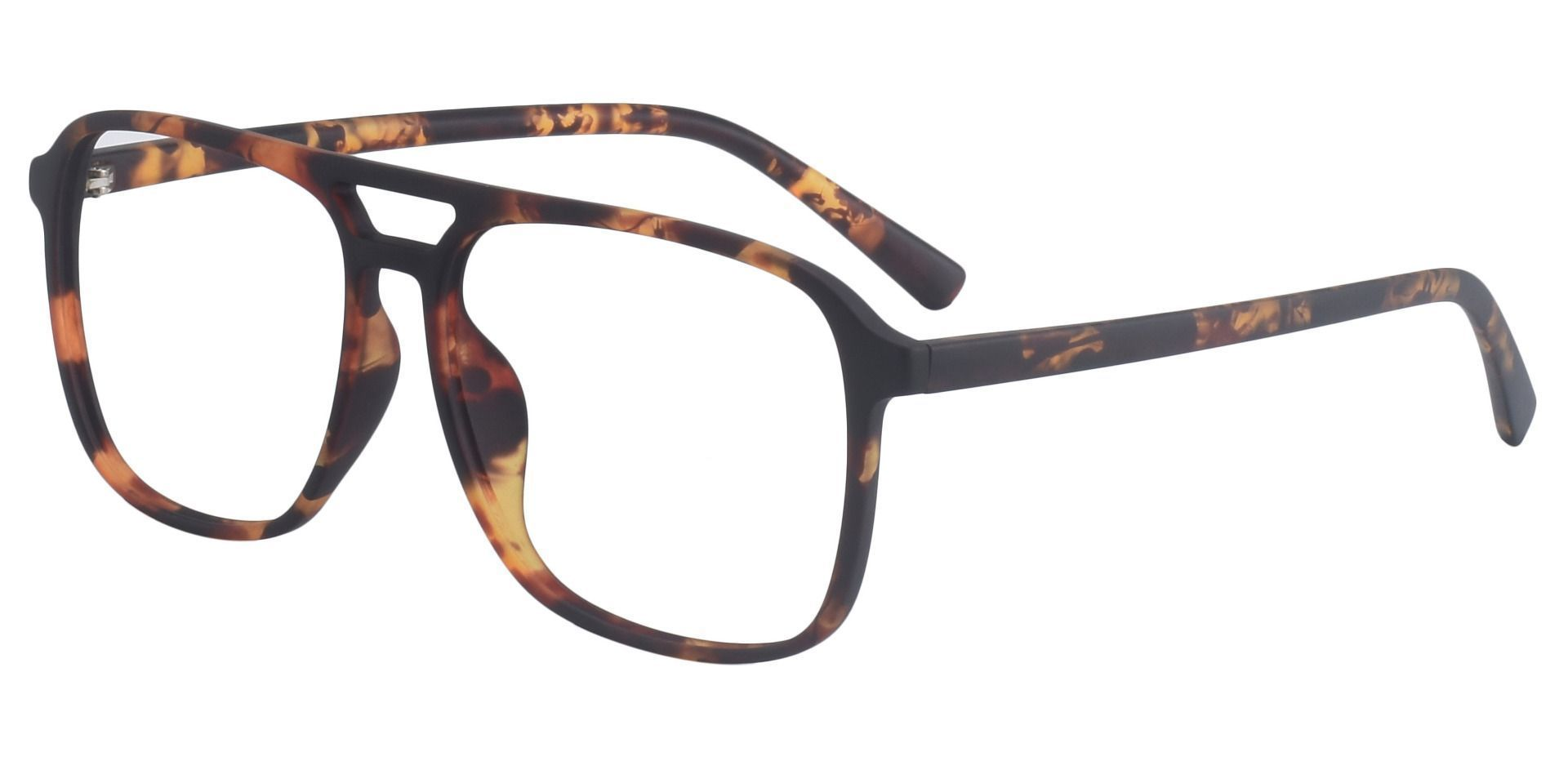 Edward Aviator Prescription Glasses - Tortoise