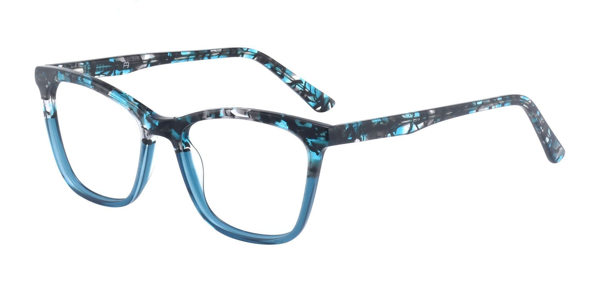 Concord Cat Eye Prescription Glasses - Blue