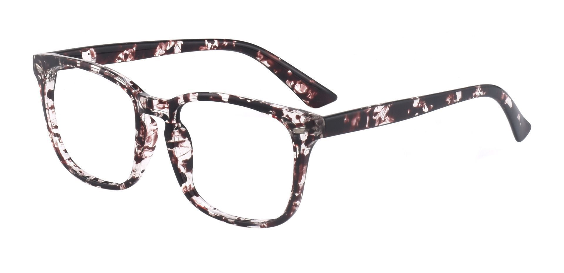 Zen Square Prescription Glasses - Two-tone