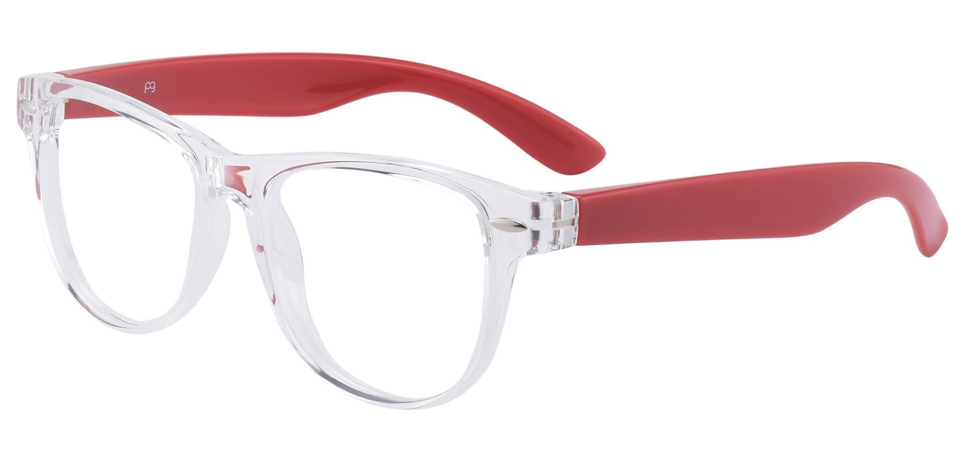 Radio Square Prescription Glasses - Clear