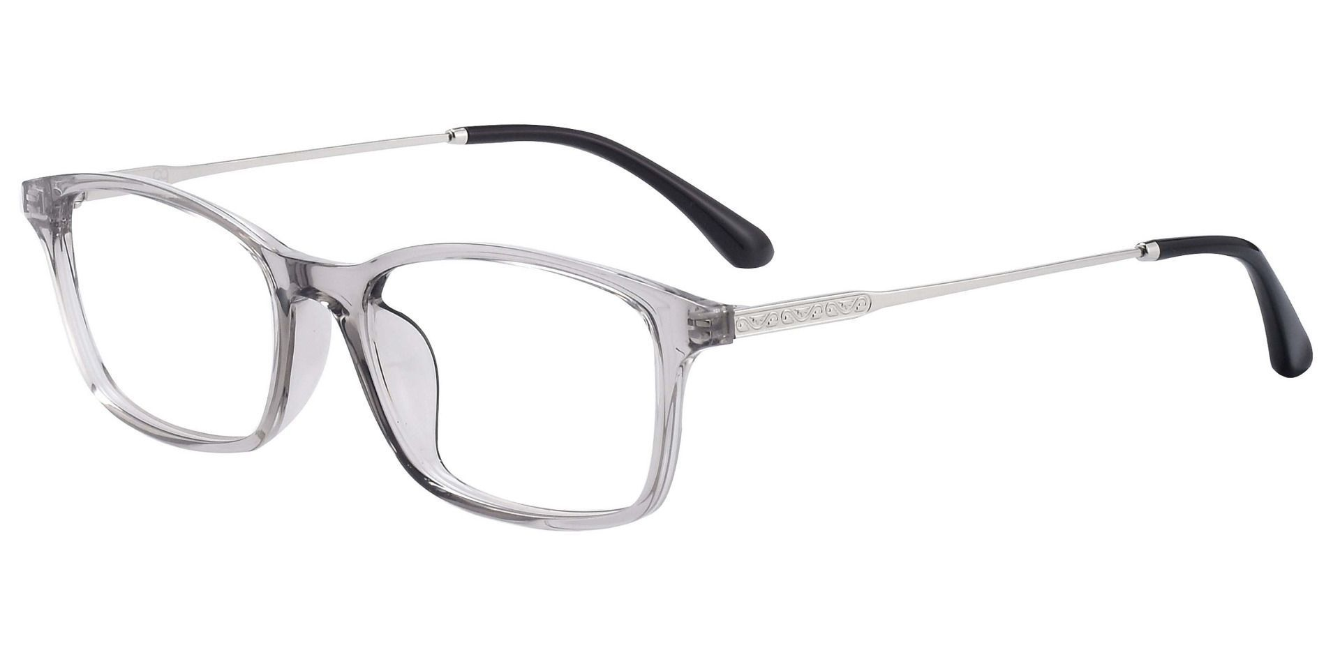 Mira Rectangle Prescription Glasses - Gray