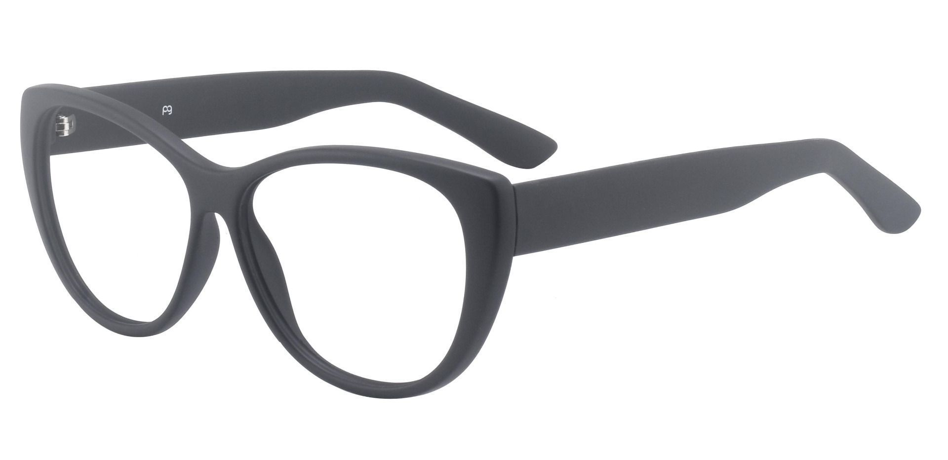 Lynn Cat-Eye Lined Bifocal Glasses - Black