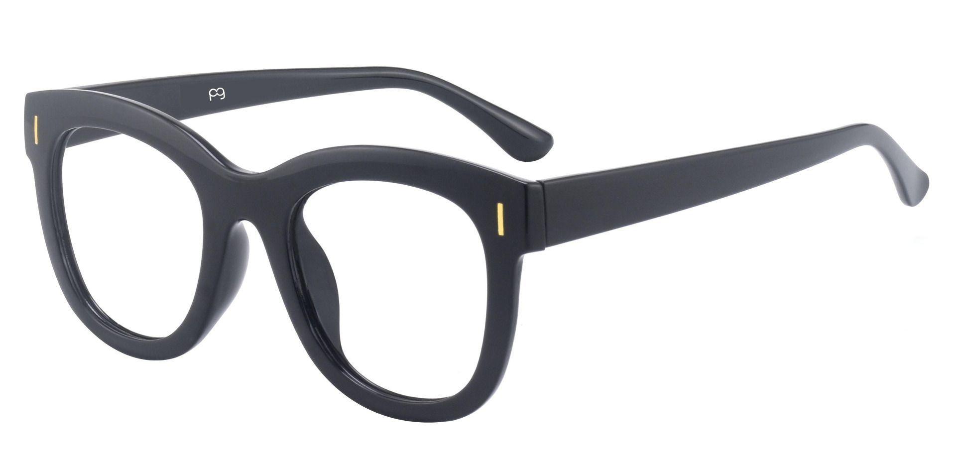 Saratoga Square Prescription Glasses - Black