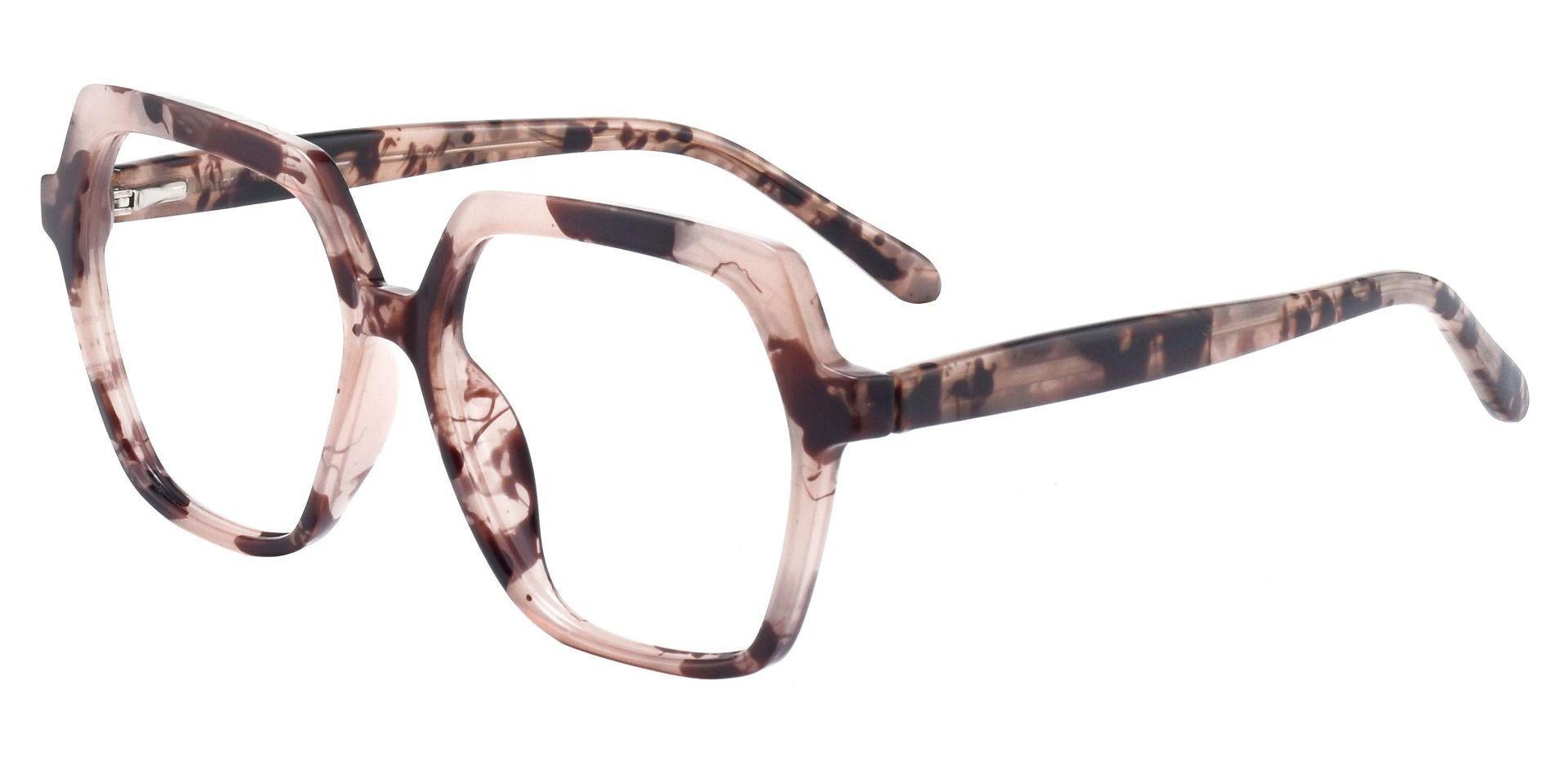 Regent Geometric Prescription Glasses - Tortoise