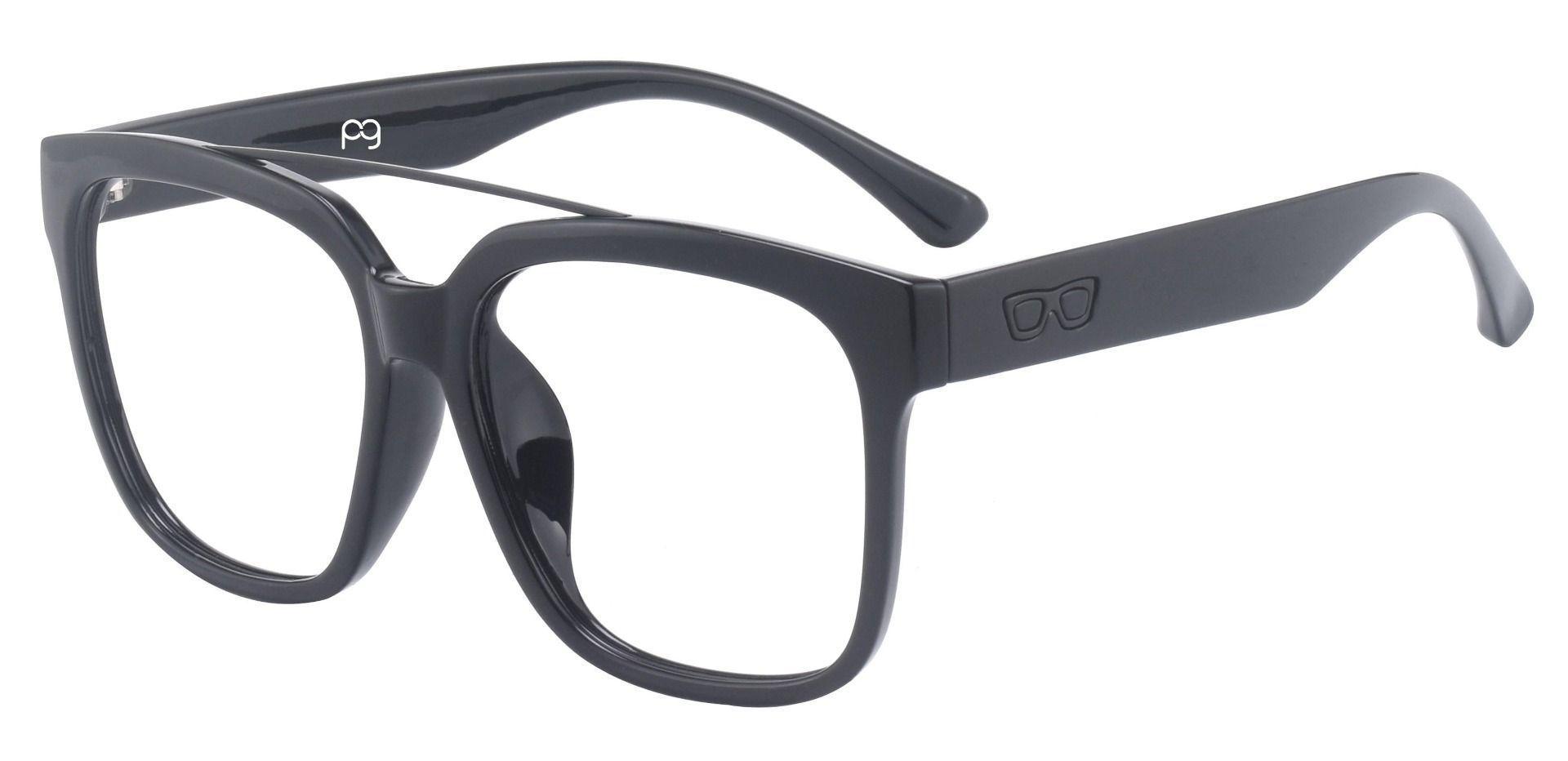 Brixton Aviator Prescription Glasses - Black