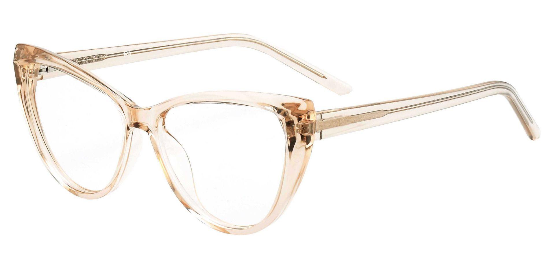 Ireland Cat Eye Prescription Glasses - Brown