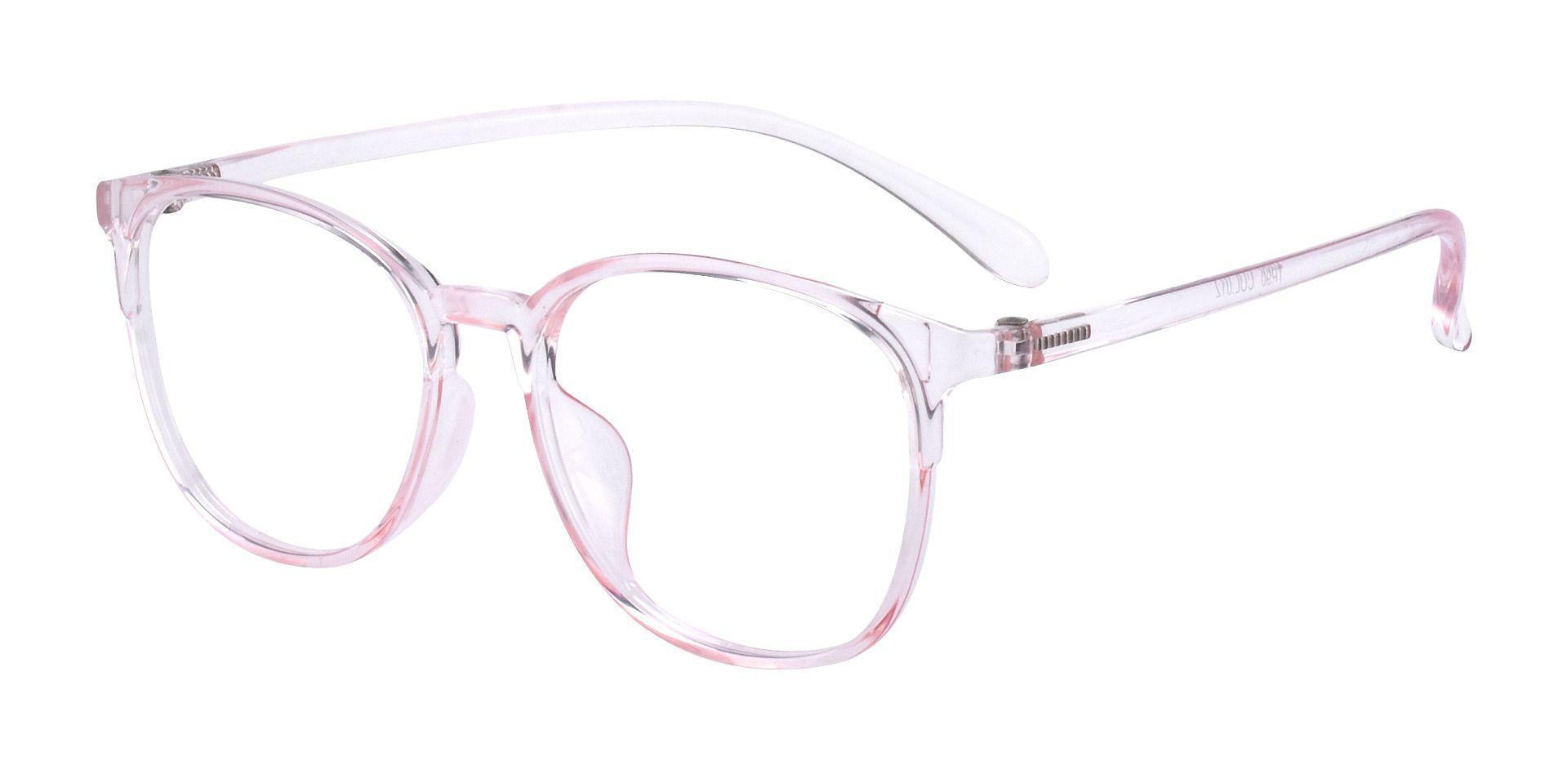 Priya Square Prescription Glasses - Pink