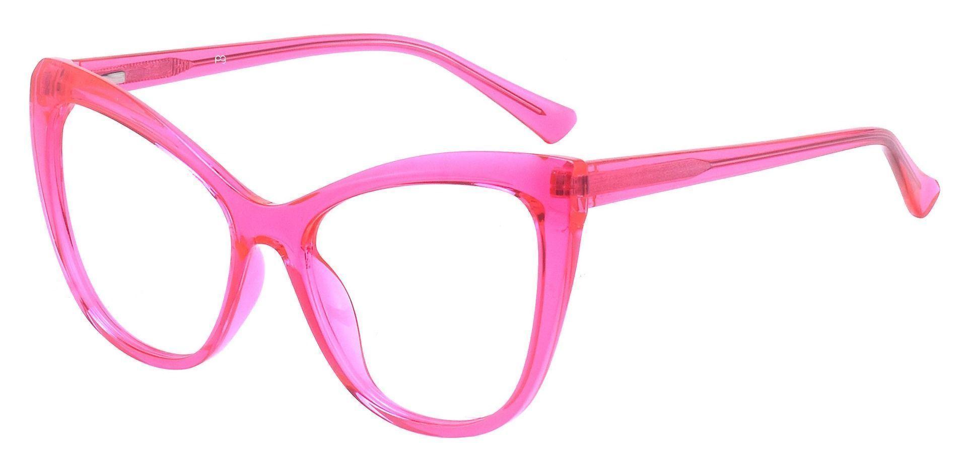 Norma Cat Eye Prescription Glasses - Pink