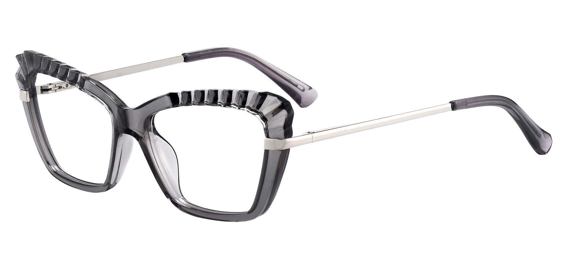 Caldwell Cat Eye Prescription Glasses - Gray