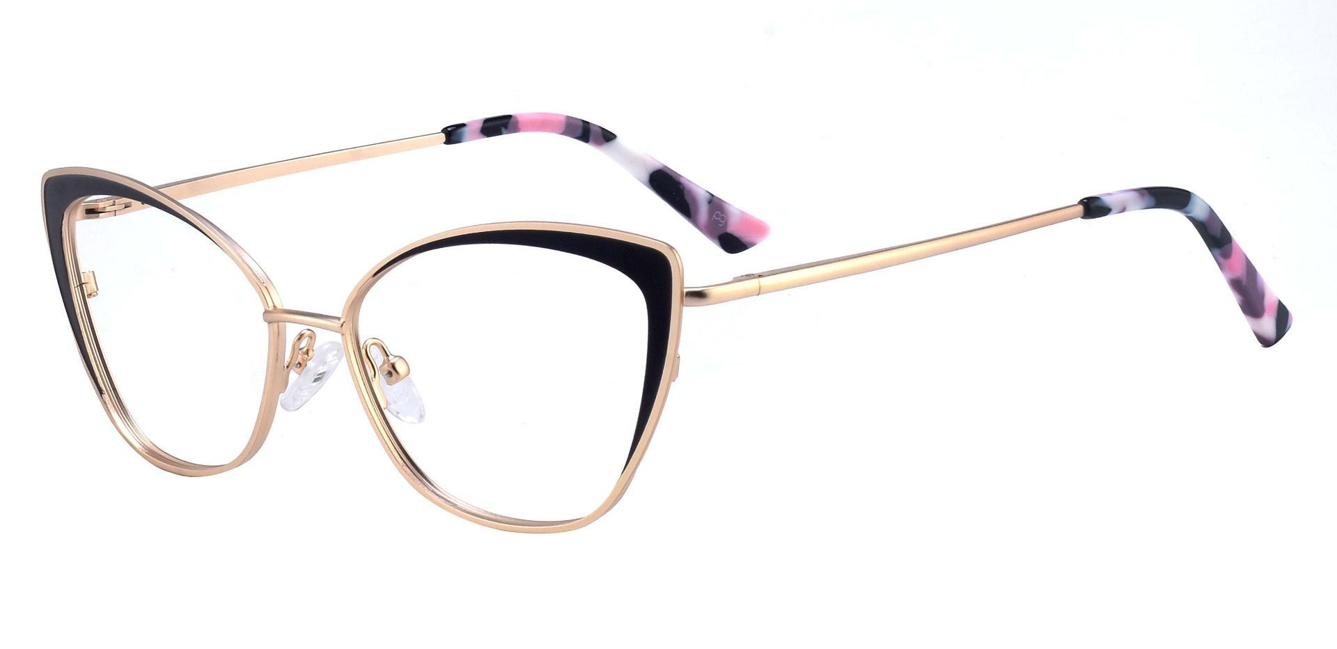 Verbena Cat Eye Prescription Glasses - Black
