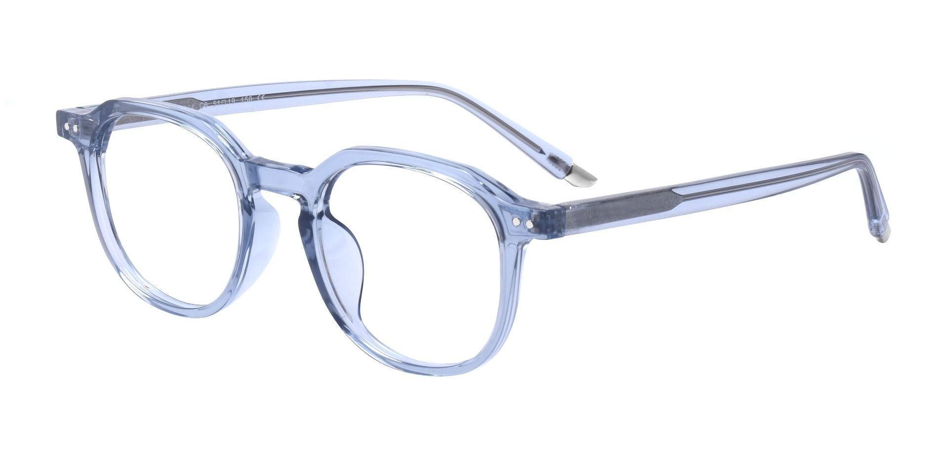 Seward Square Prescription Glasses - Blue