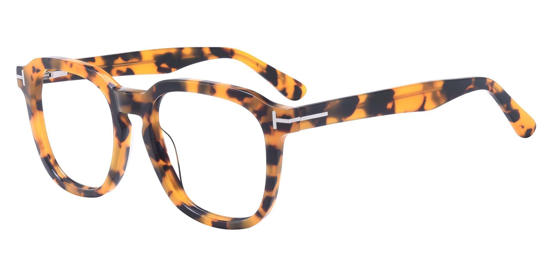 Whaley Square Prescription Glasses - Tortoise