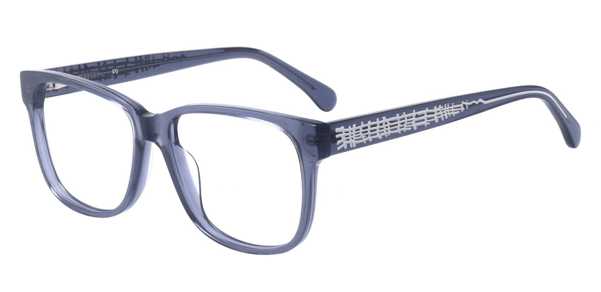 Polaris Square Prescription Glasses - Gray