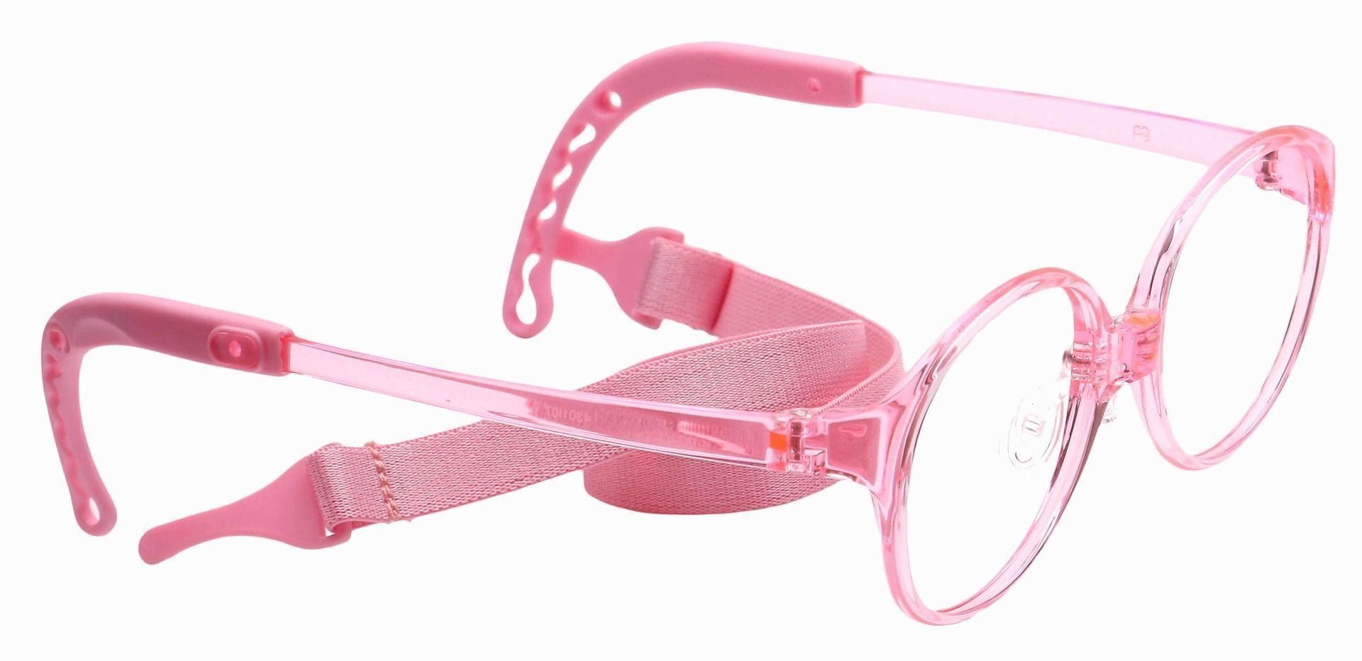 Zany Oval Reading Glasses - Pink