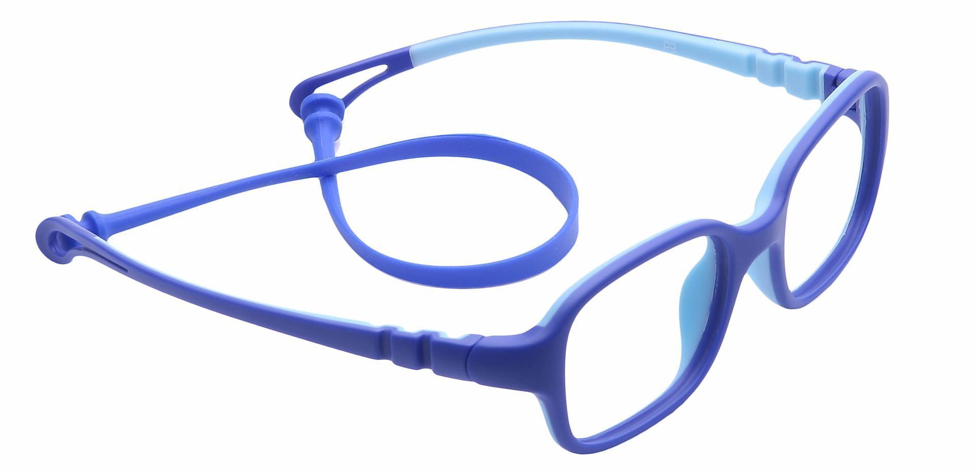 Quirk Oval Reading Glasses - Blue