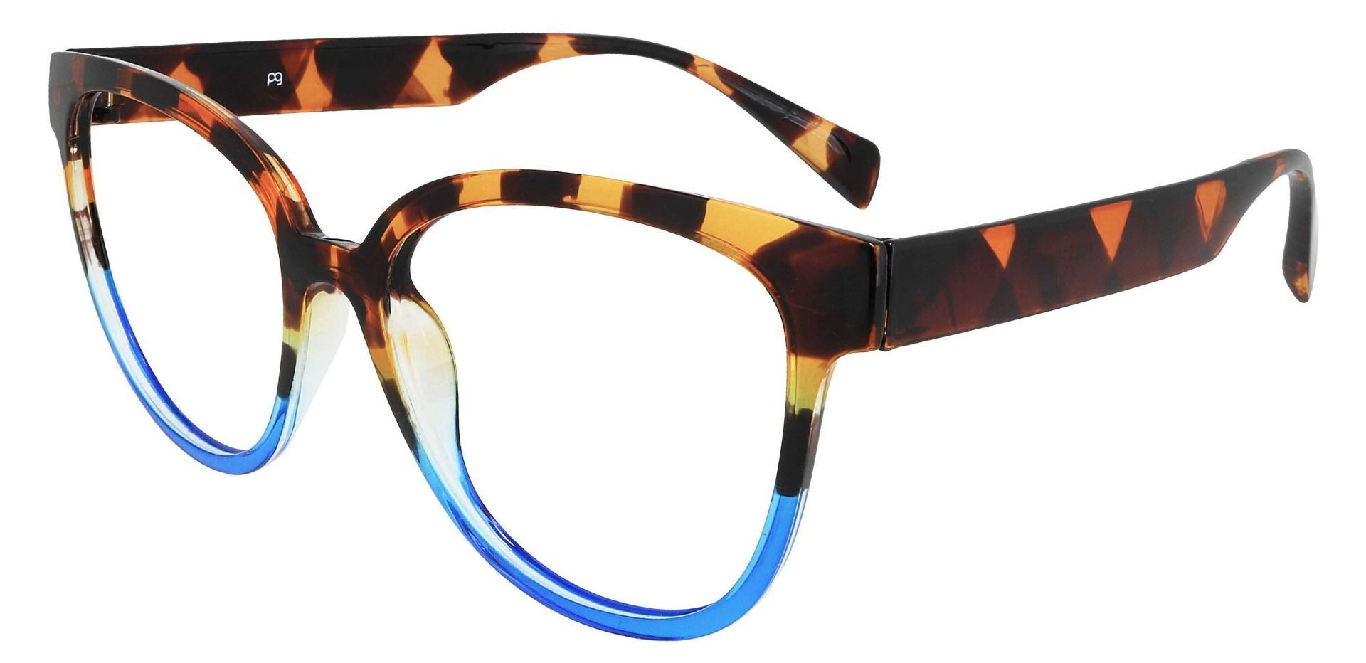 Newport Oval Prescription Glasses - Tortoise