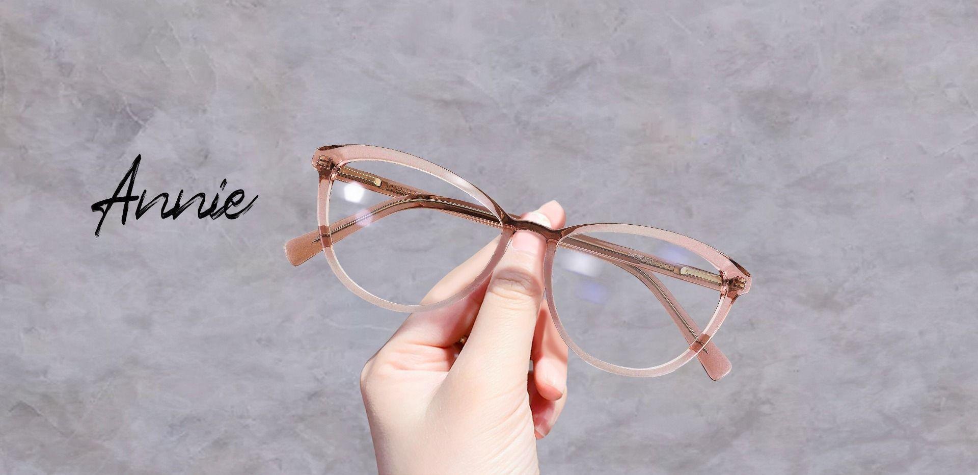 Annie Cat Eye Prescription Glasses - Orange