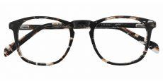 Venti Square Prescription Glasses - Black