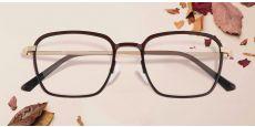Gulliver Square Prescription Glasses - Red
