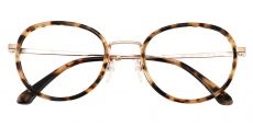 Banks Oval Prescription Glasses - Tortoise