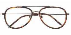 Ace Aviator Prescription Glasses - Tortoise