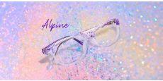 Alpine Oval Prescription Glasses - Purple