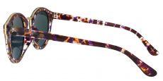 Cadence Oval Purple Non-Rx Sunglasses