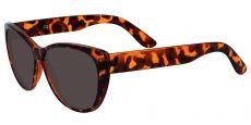 Lynn Cat-Eye Lined Bifocal Sunglasses - Tortoise Frame With Gray Lenses