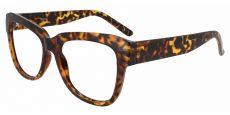 Gina Cat-Eye Progressive Glasses - Tortoise