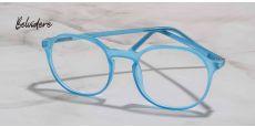Belvidere Geometric Prescription Glasses - Blue
