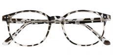 Holstein Oval Prescription Glasses - Leopard