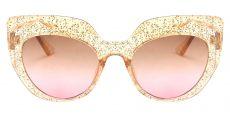 Starlight Cat Eye Brown Non-Rx Sunglasses