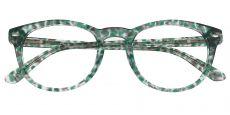 Wilcox Oval Prescription Glasses - Green