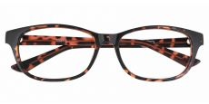 Reyna Classic Square Blue Light Blocking Glasses - Tortoise