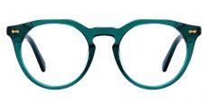 Hayward Round Prescription Glasses - Green