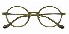 Conrad Round Prescription Glasses - Green